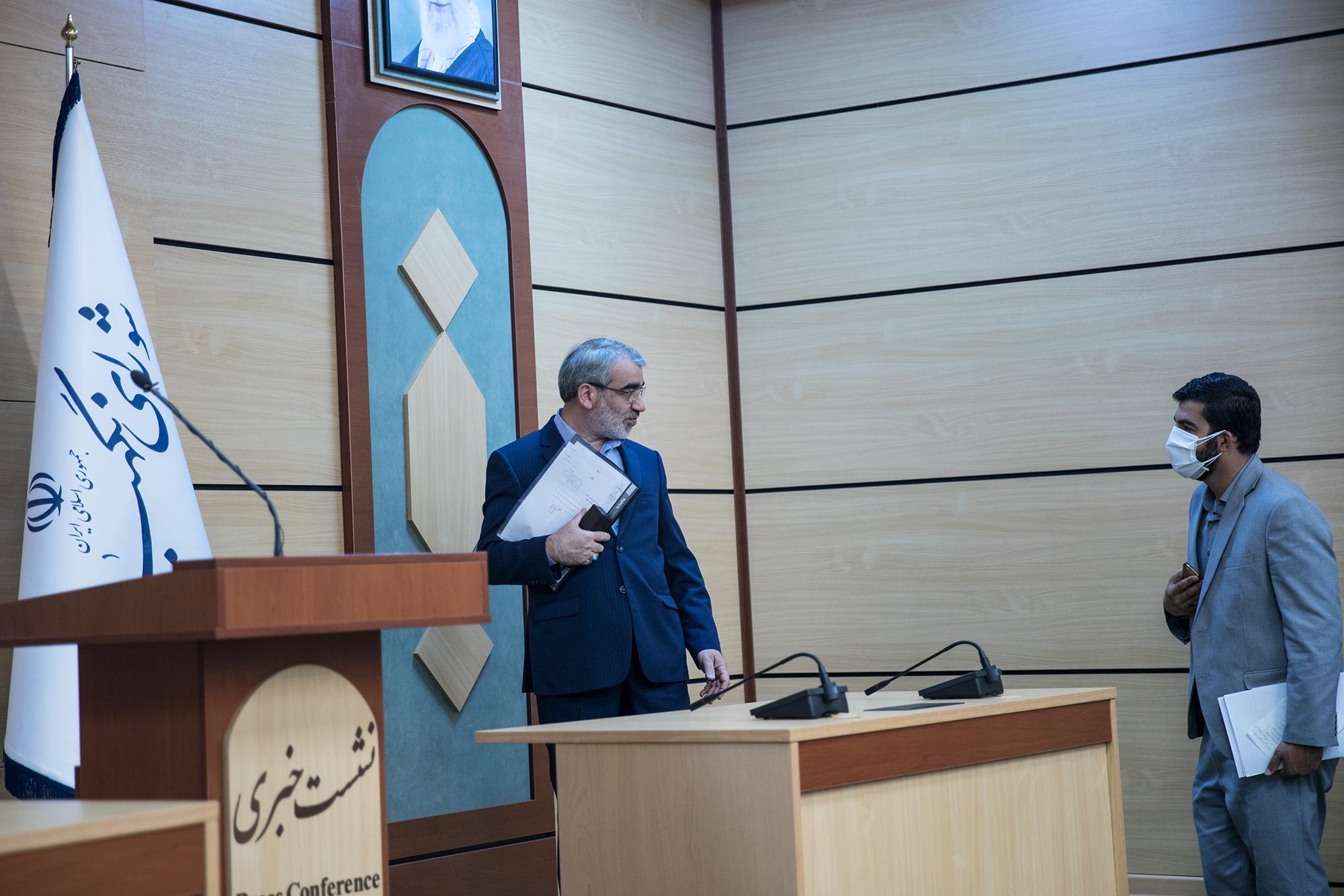گزارش تصویری «پارسینه» از نشست خبری سخنگوی شورای نگهبان با اصحاب رسانه
